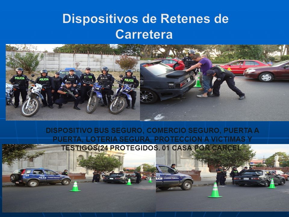 Dispositivos de Retenes de
