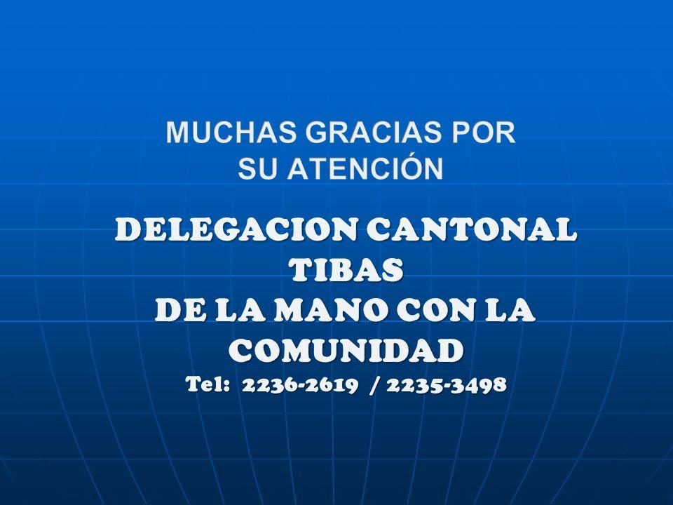 DELEGACION CANTONAL TIBAS DE LA MANO CON LA COMUNIDAD