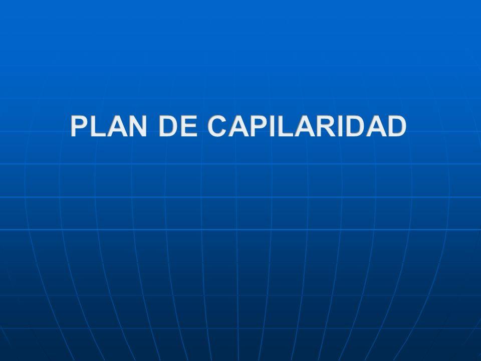 PLAN DE CAPILARIDAD