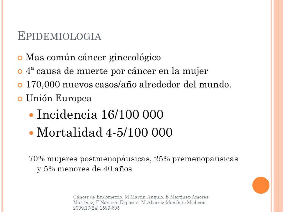 Incidencia 16/100 000 Mortalidad 4-5/100 000 Epidemiologia