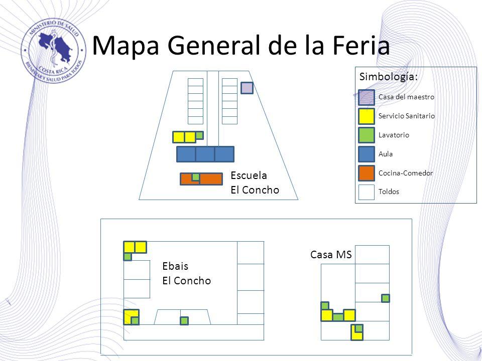 Mapa General de la Feria