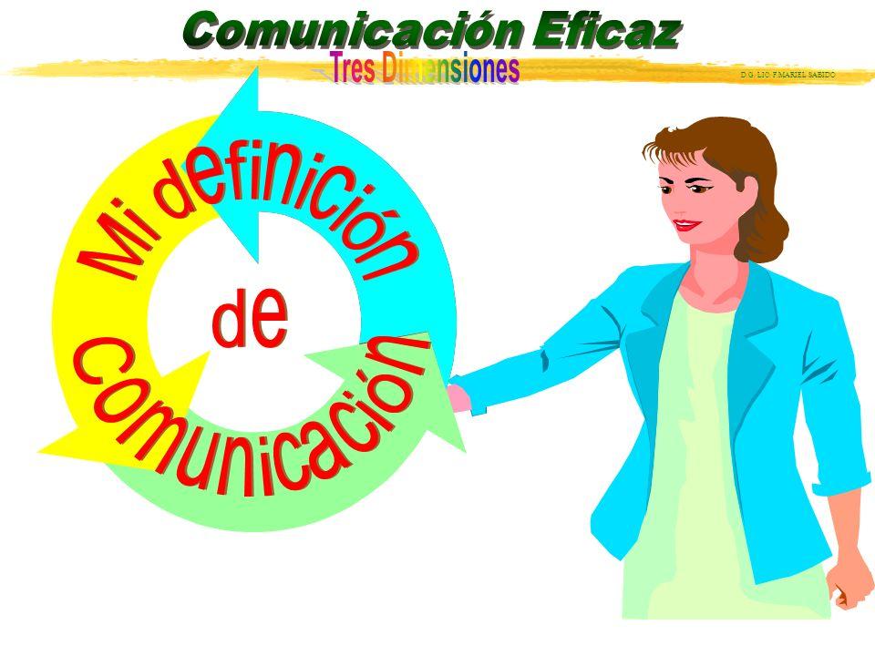 Mi definición de Comunicación