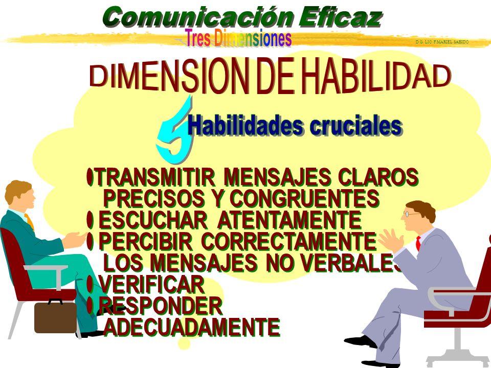 DIMENSION DE HABILIDAD