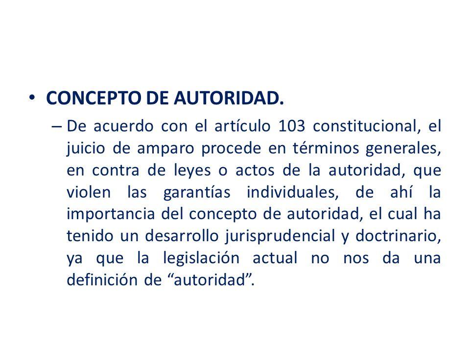 CONCEPTO DE AUTORIDAD.