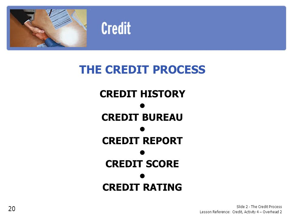 Activity 1 the abcs of credit ppt descargar - Credit bureau protection ...