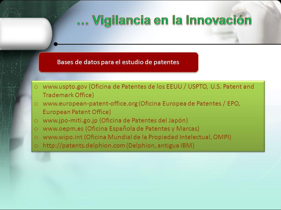 Gesti n de recursos tecnol gicos ppt descargar - Oficina europea de patentes y marcas alicante ...