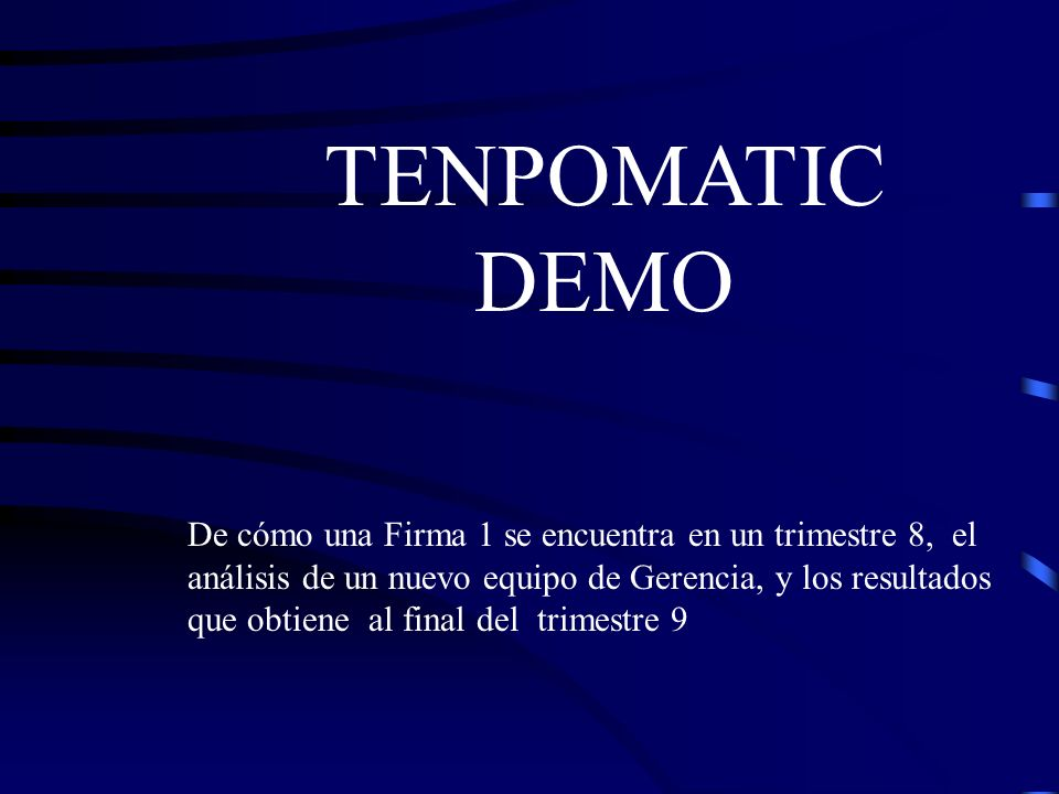 TENPOMATIC DEMO