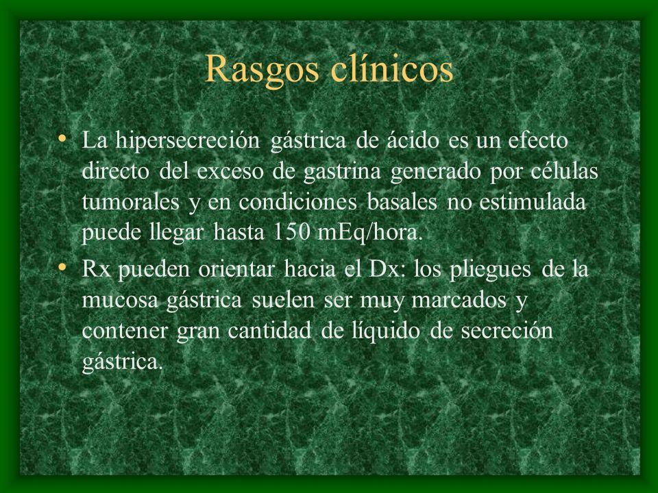 Rasgos clínicos