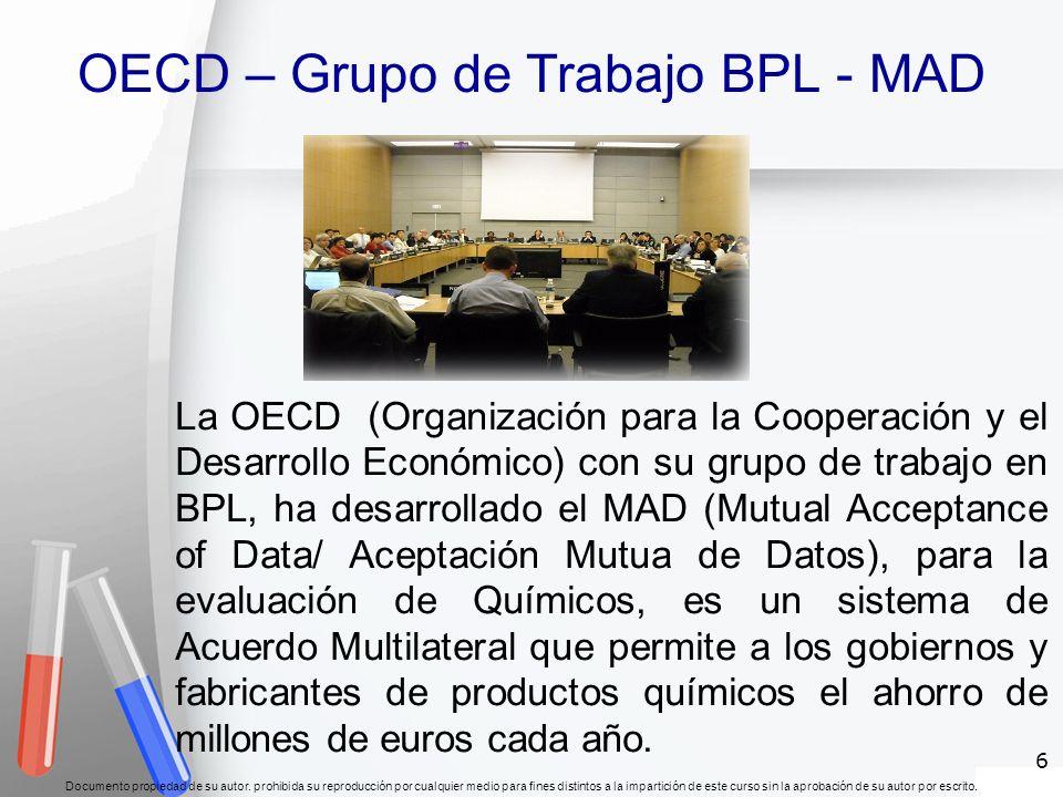 OECD – Grupo de Trabajo BPL - MAD