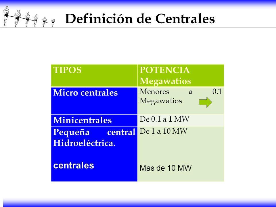 Definición de Centrales