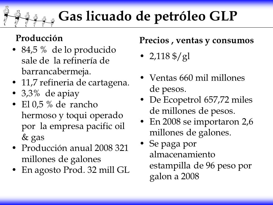 Gas licuado de petróleo GLP