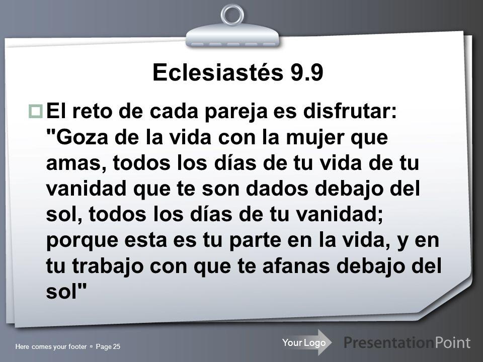 Eclesiastés 9.9