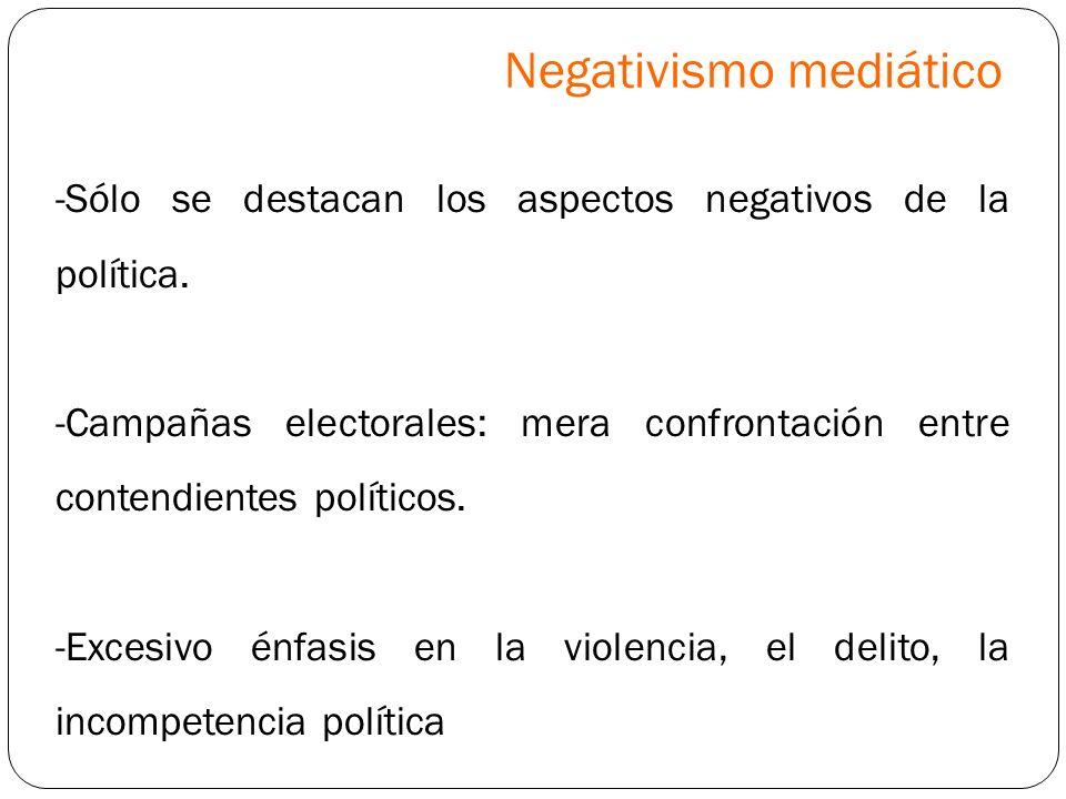 Negativismo mediático
