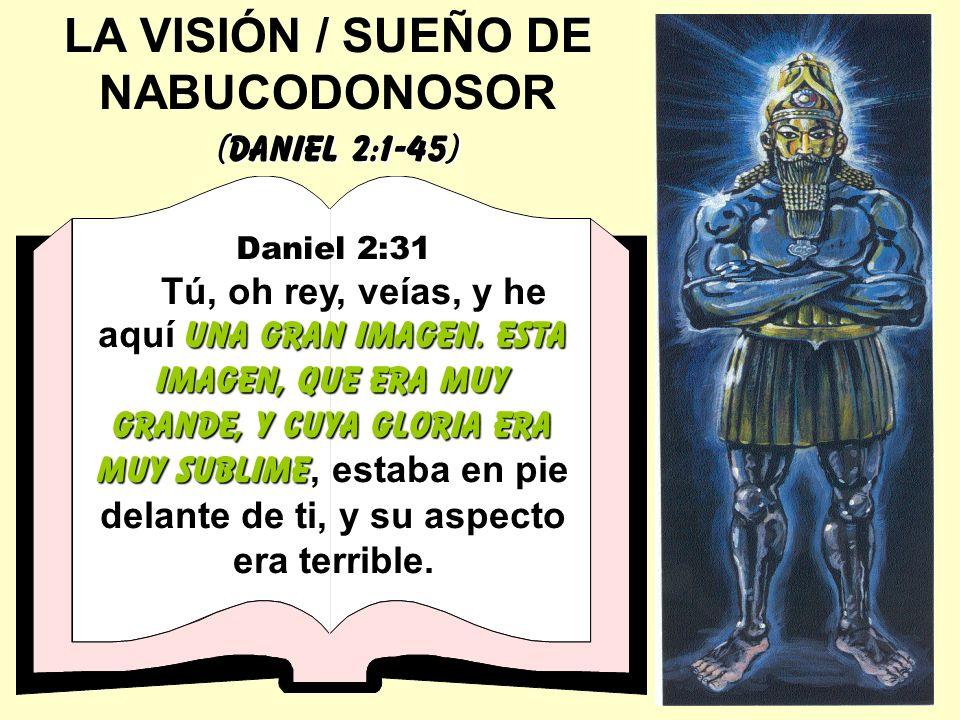 LA VISIÓN / SUEÑO DE NABUCODONOSOR
