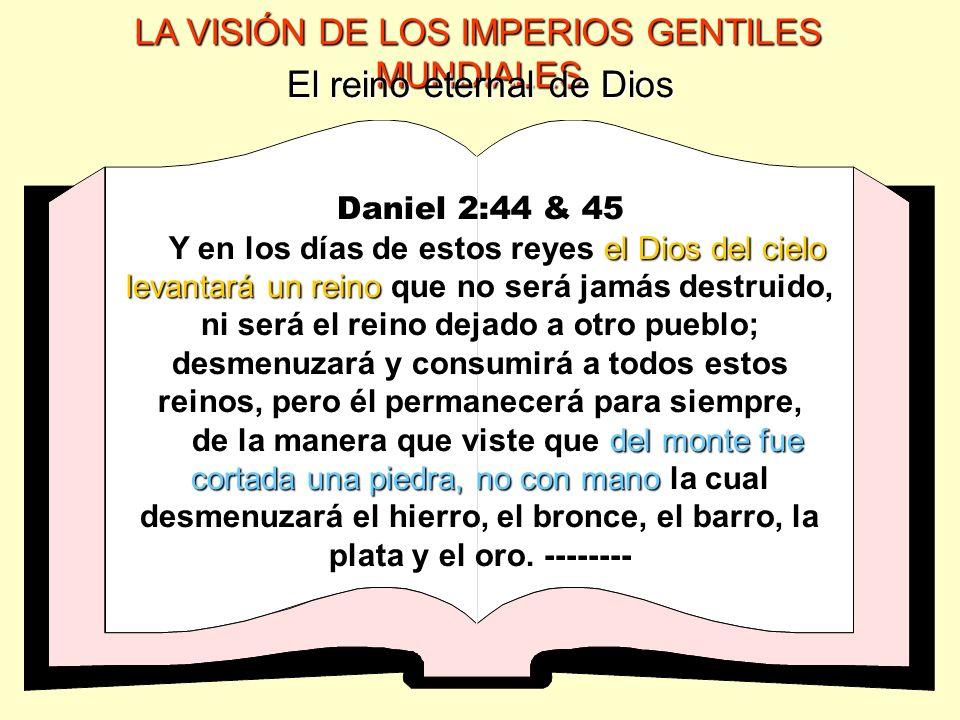 El reino eternal de Dios