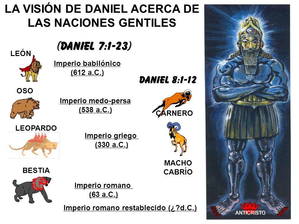 LA VISIÓN DE DANIEL ACERCA DE LAS NACIONES GENTILES
