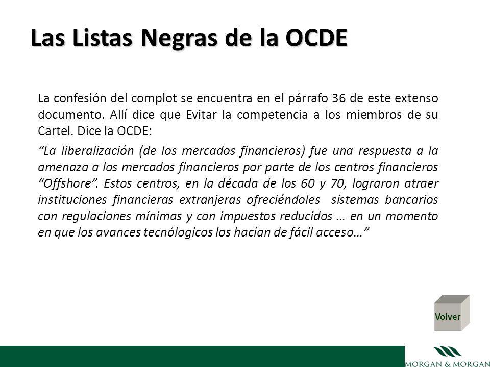 Las Listas Negras de la OCDE