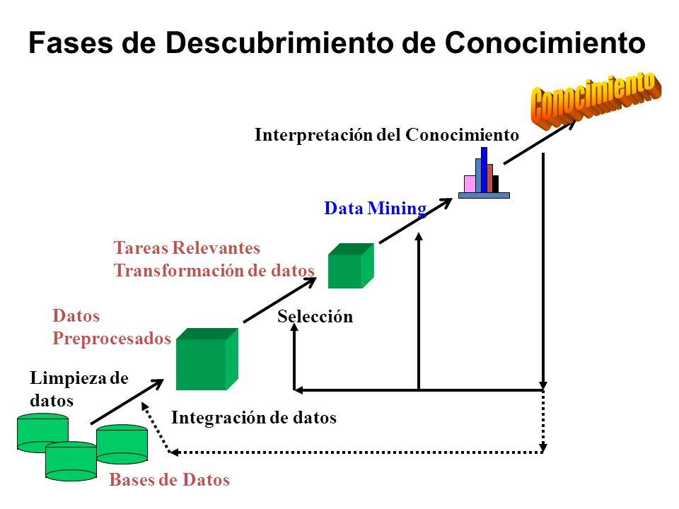Fases de Descubrimiento de Conocimiento