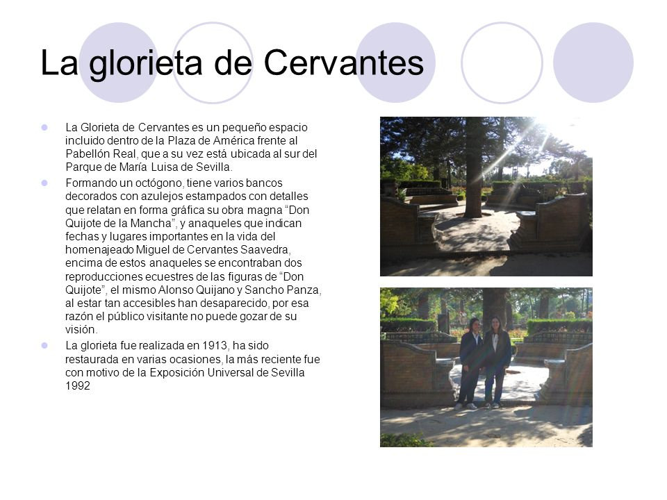 La glorieta de Cervantes