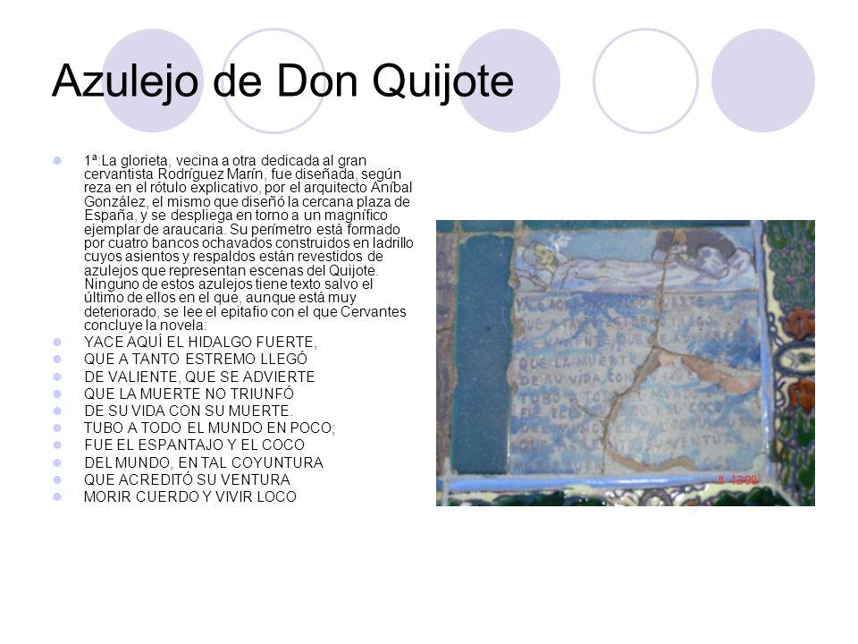 Azulejo de Don Quijote