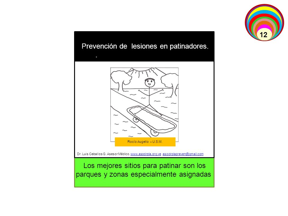 Prevención de lesiones en patinadores. .