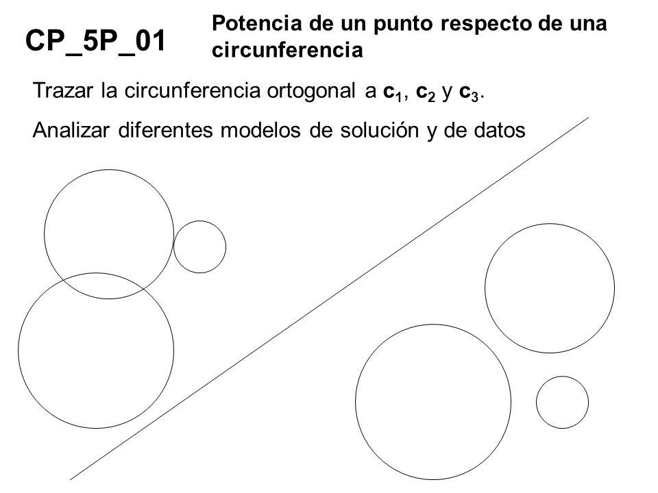 CP_5P_01 Potencia de un punto respecto de una circunferencia