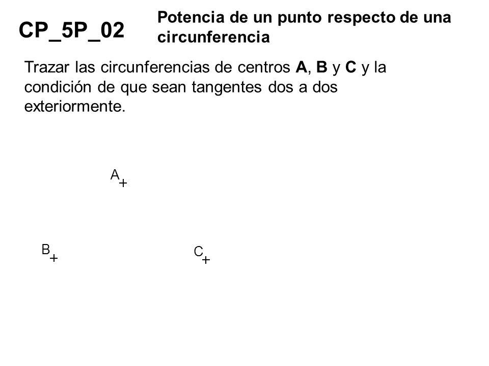 CP_5P_02 Potencia de un punto respecto de una circunferencia