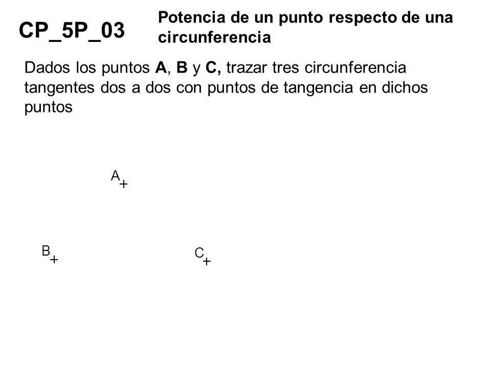 CP_5P_03 Potencia de un punto respecto de una circunferencia