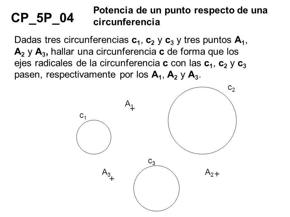 CP_5P_04 Potencia de un punto respecto de una circunferencia