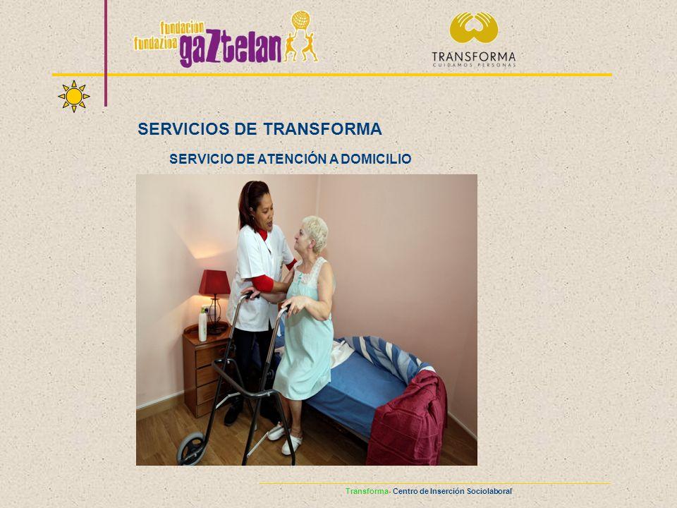 SERVICIO DE ATENCIÓN A DOMICILIO