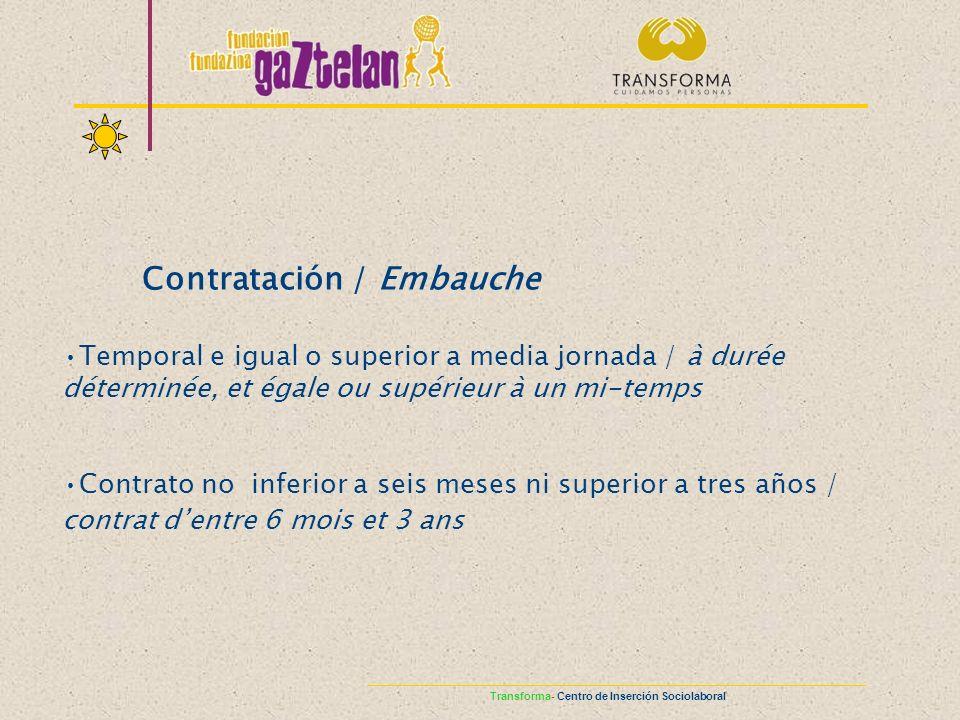 Contratación / Embauche