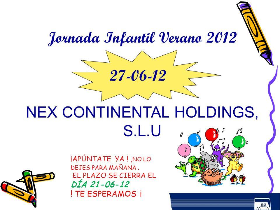 Jornada Infantil Verano 2012