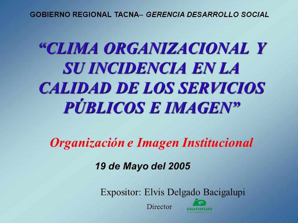 Organización e Imagen Institucional