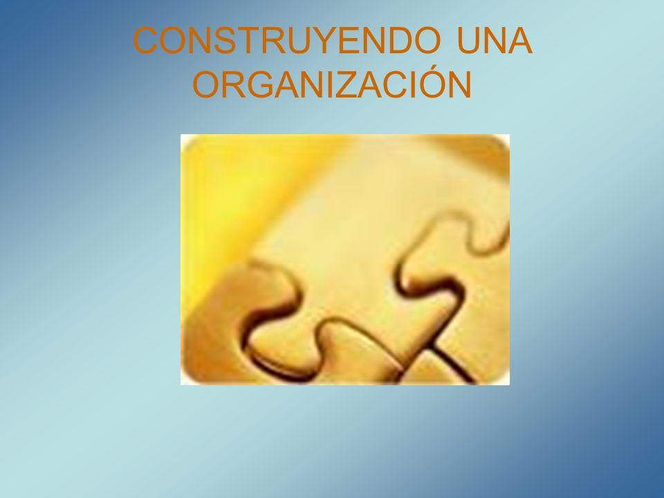 CONSTRUYENDO UNA ORGANIZACIÓN