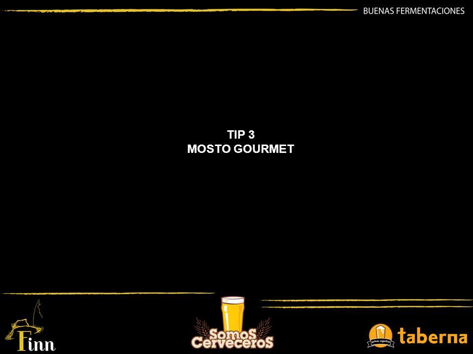 TIP 3 MOSTO GOURMET