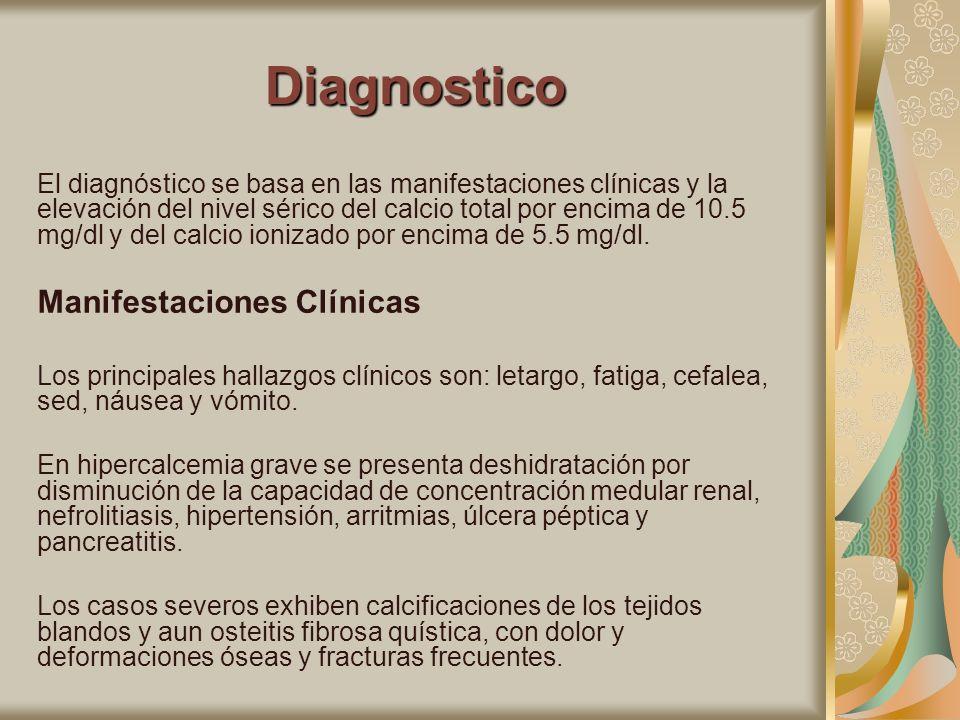 Diagnostico Manifestaciones Clínicas