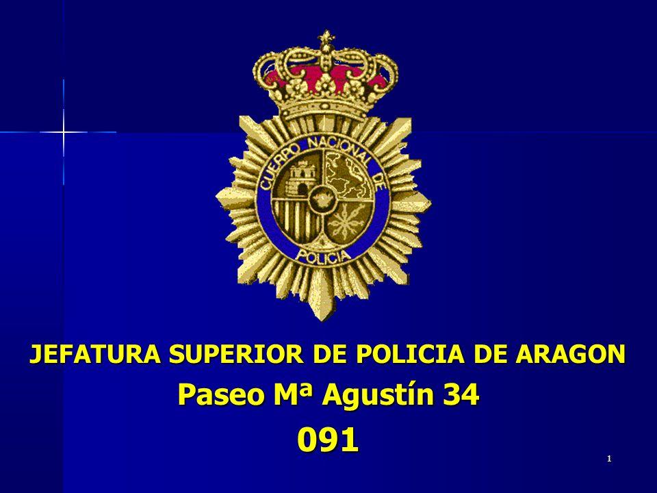 JEFATURA SUPERIOR DE POLICIA DE ARAGON