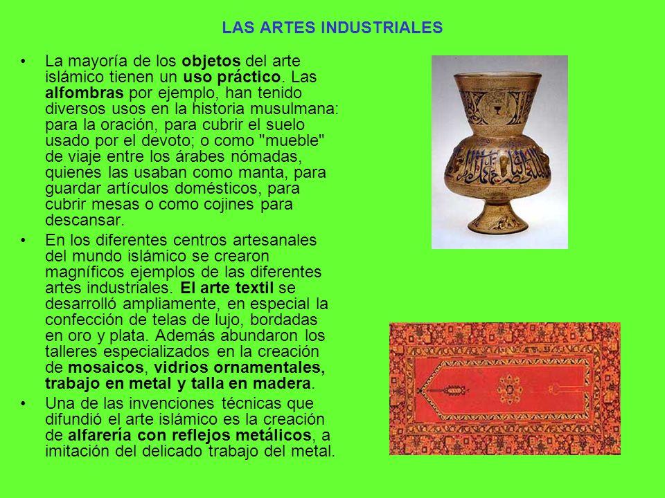 LAS ARTES INDUSTRIALES
