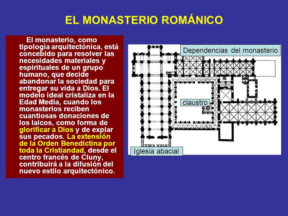 EL MONASTERIO ROMÁNICO