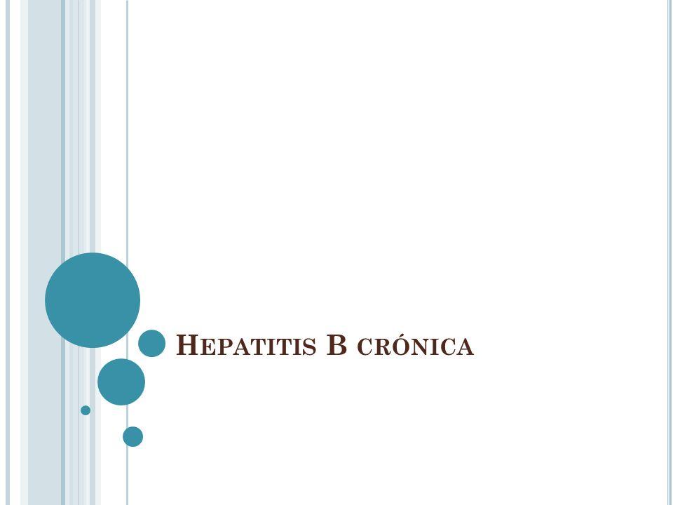 Hepatitis B crónica