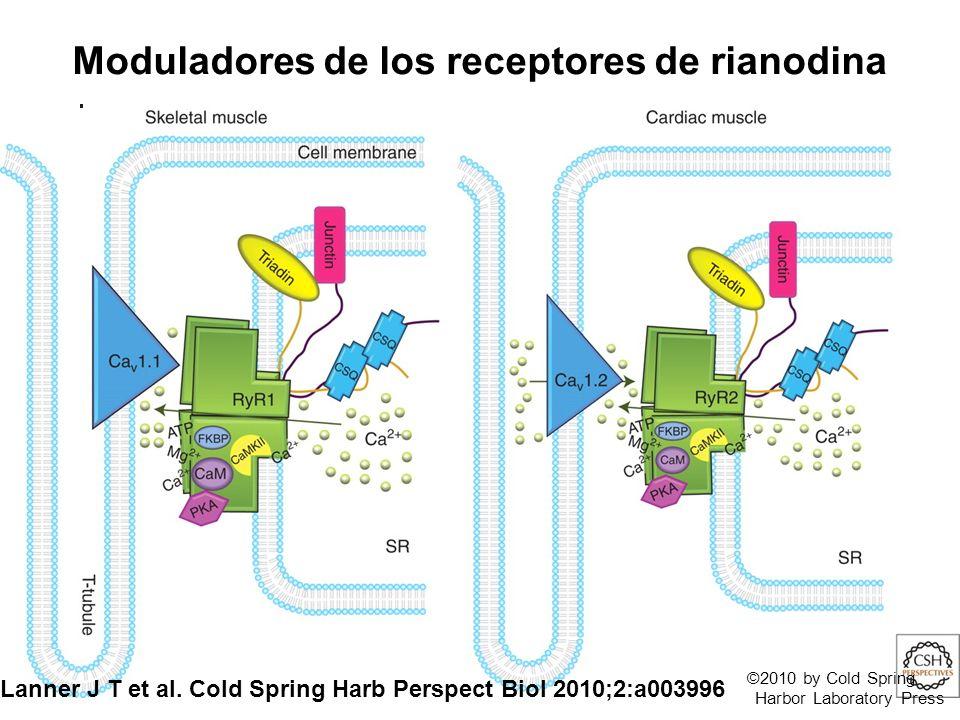 Moduladores de los receptores de rianodina