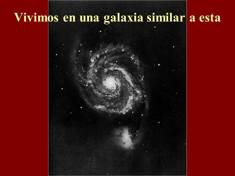 Vivimos en una galaxia similar a esta