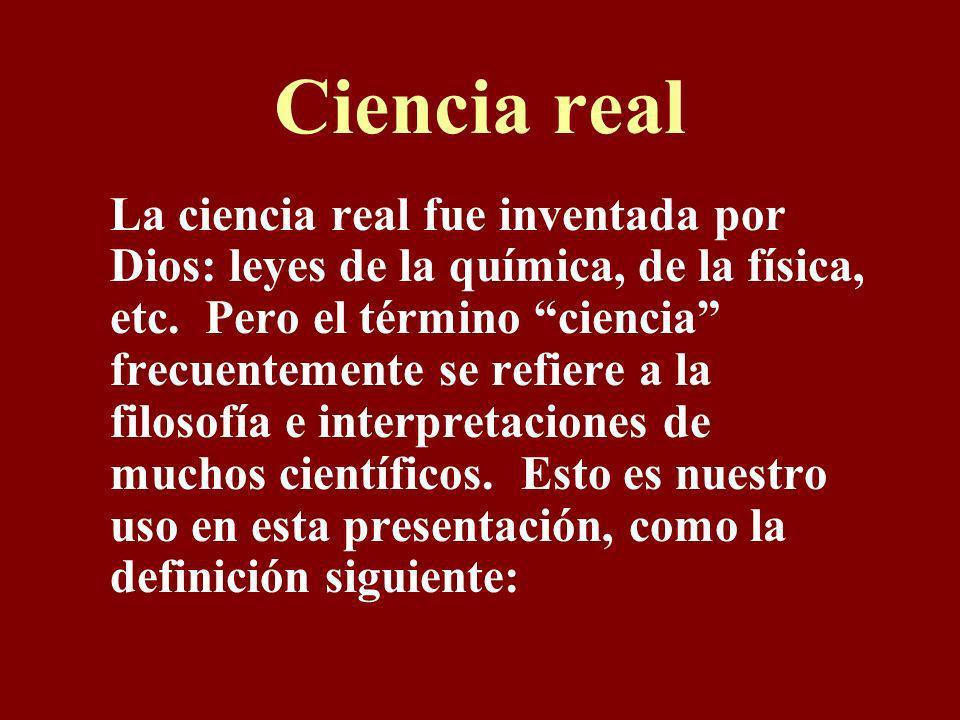 Ciencia real