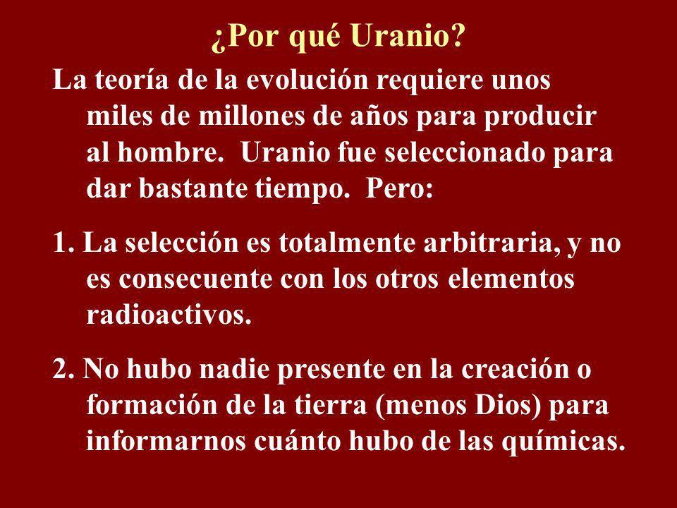 ¿Por qué Uranio