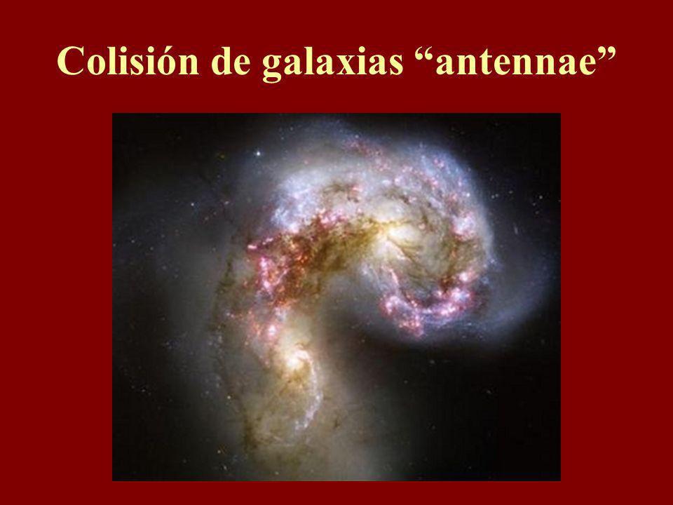 Colisión de galaxias antennae