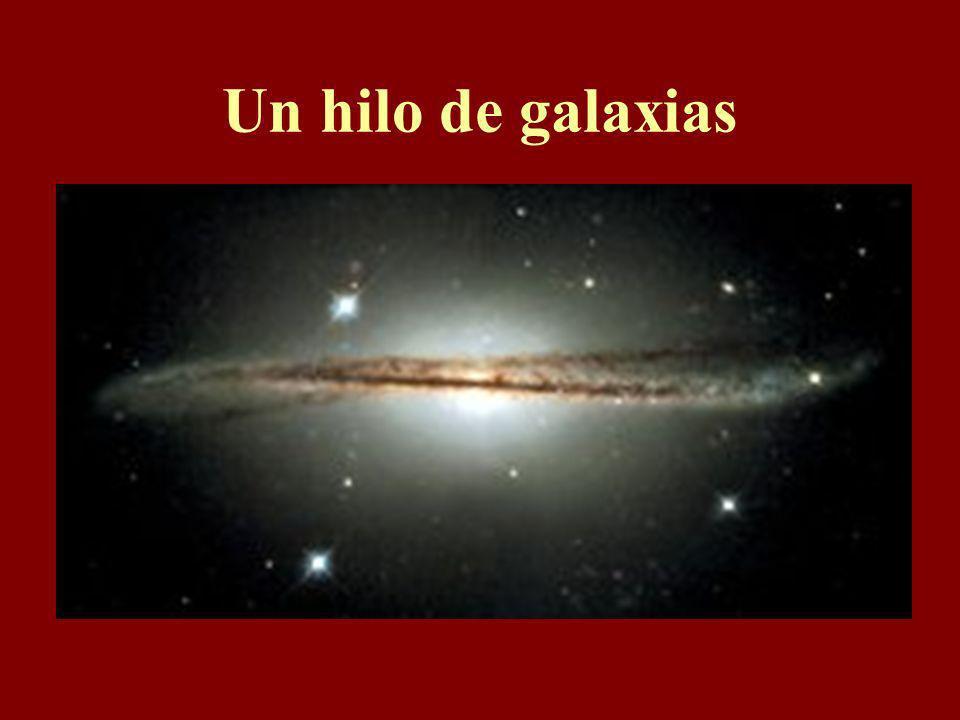Un hilo de galaxias