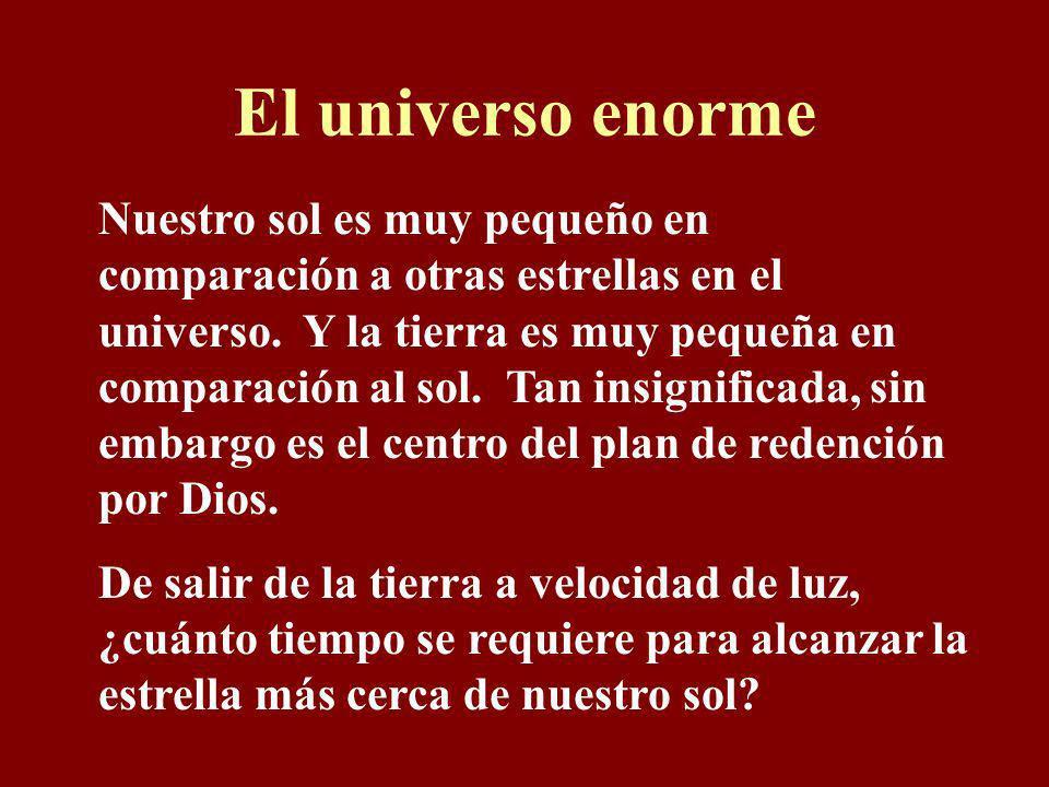 El universo enorme