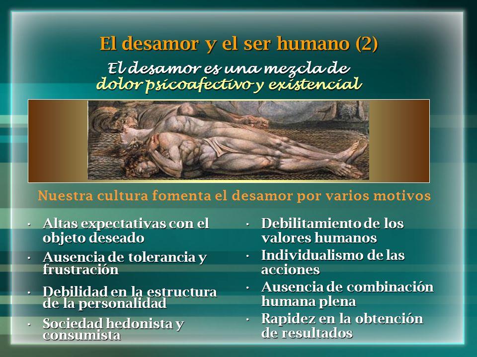 El desamor y el ser humano (2)