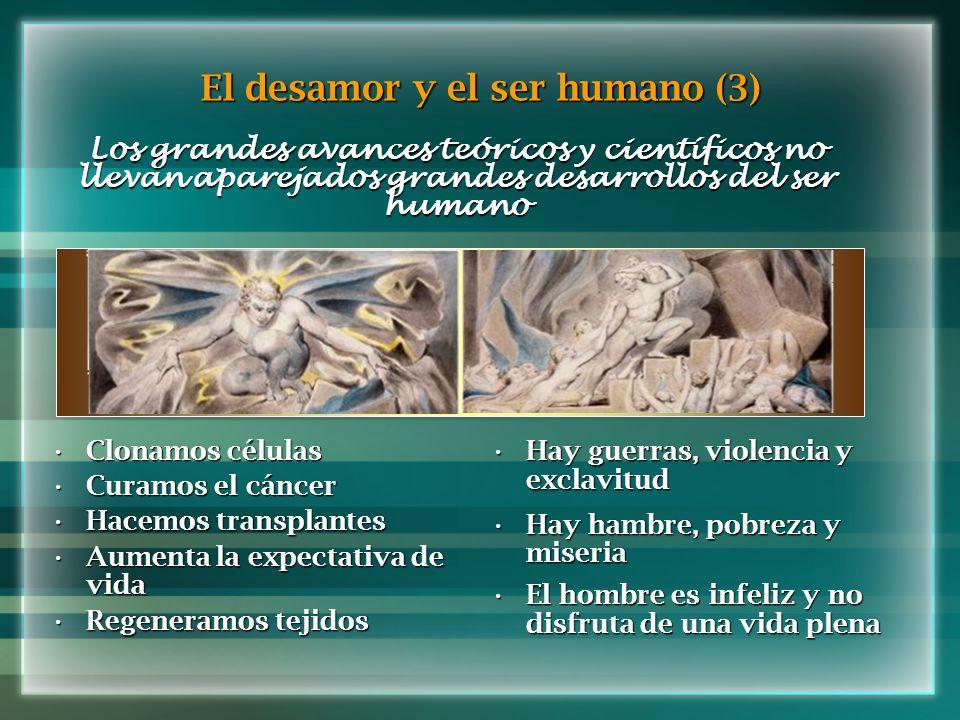 El desamor y el ser humano (3)