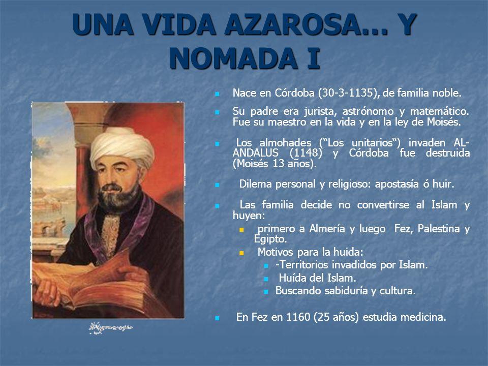 UNA VIDA AZAROSA… Y NOMADA I